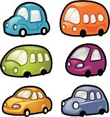 A collection of urban vehicles, shiny icons. AI CS2 file included.