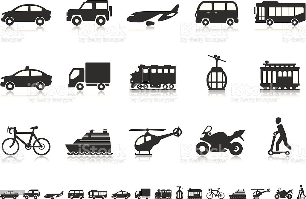 Transport icons | Pictoria series royalty-free transport icons pictoria series stock vector art & more images of 4x4