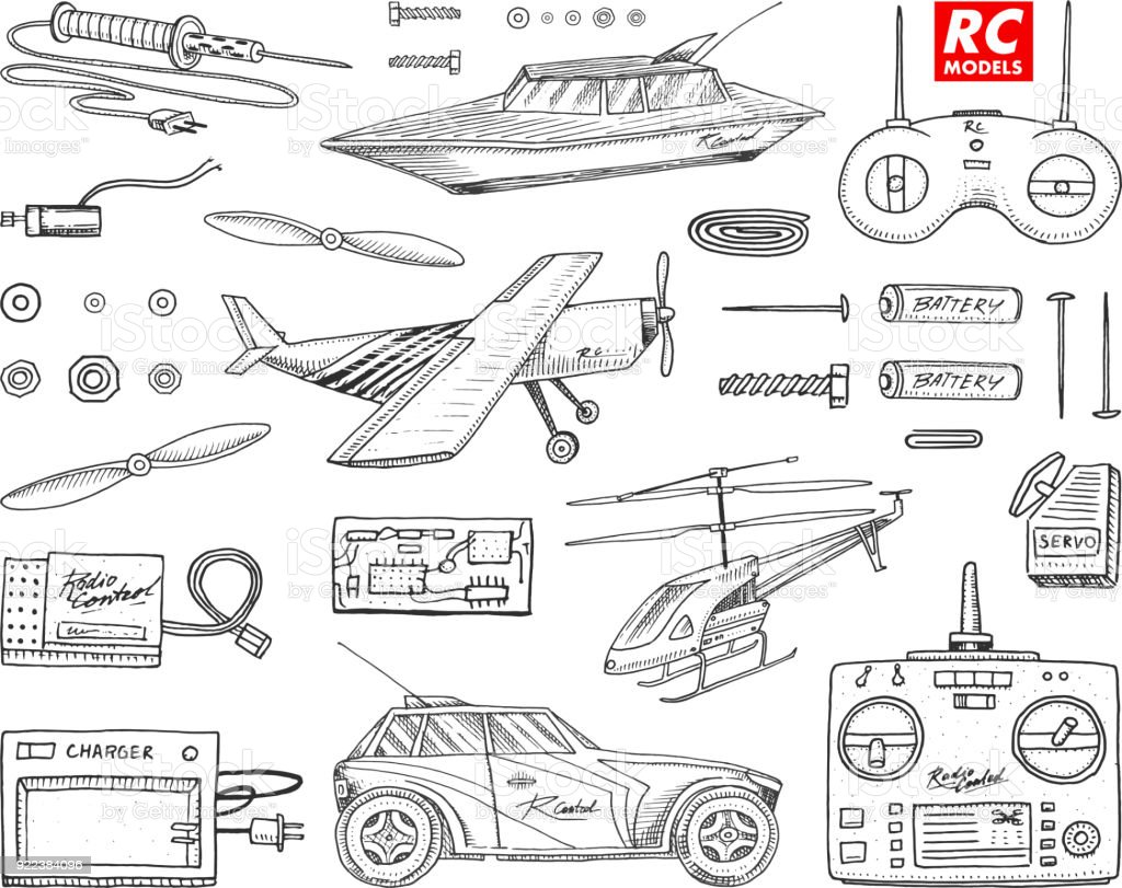 royalty free rc boat clip art  vector images