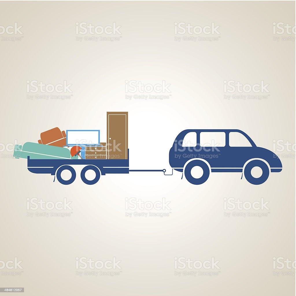 Transport vector art illustration
