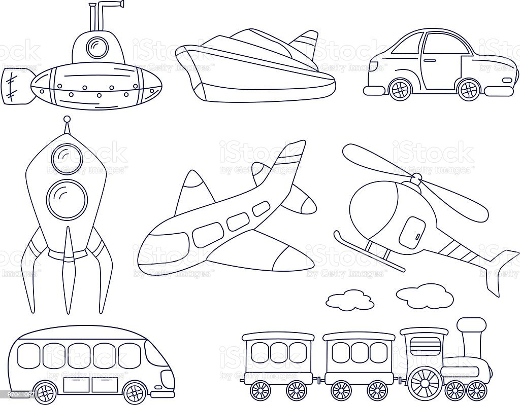 Transport royalty-free stock vector art