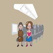 Transportaion passengers women