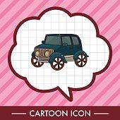 transportation car theme elements vector,eps
