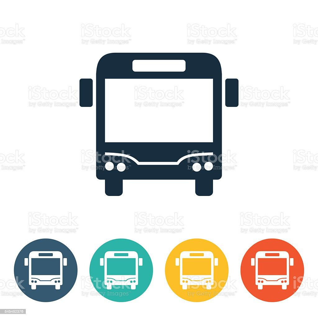 Transportation Icons Bus Stock Illustration Download Image Now Istock