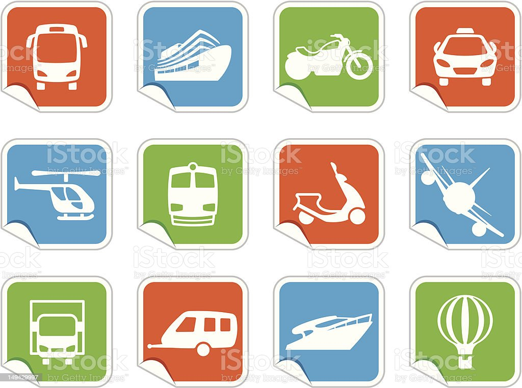 Transportation Icons royalty-free transportation icons stock vector art & more images of air vehicle