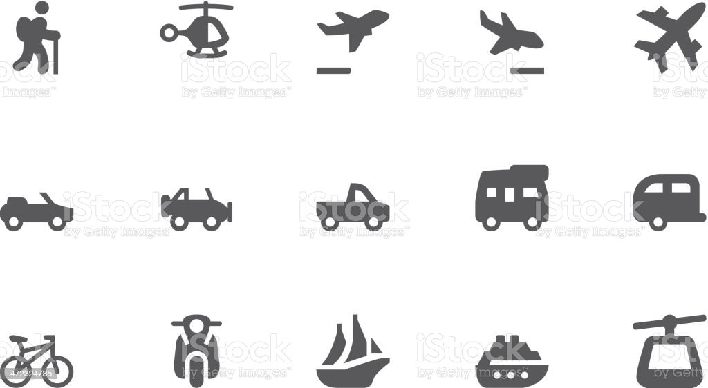 Transportation icons royalty-free transportation icons stock vector art & more images of 4x4