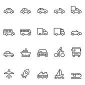 istock Transportation icons 903777810