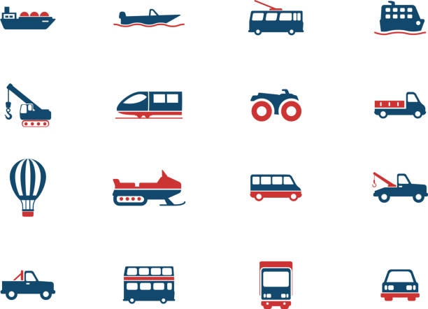 Transportation simply icons Transportation simply icons for web. See also: high speed train stock illustrations