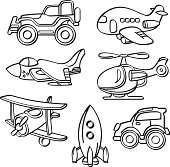 Transportation Toys Collection