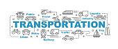 transportation vector banner