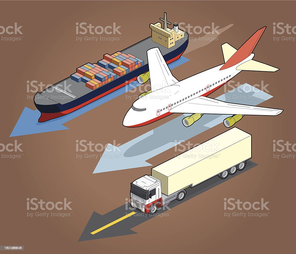 transportation royalty-free transportation stock vector art & more images of airplane