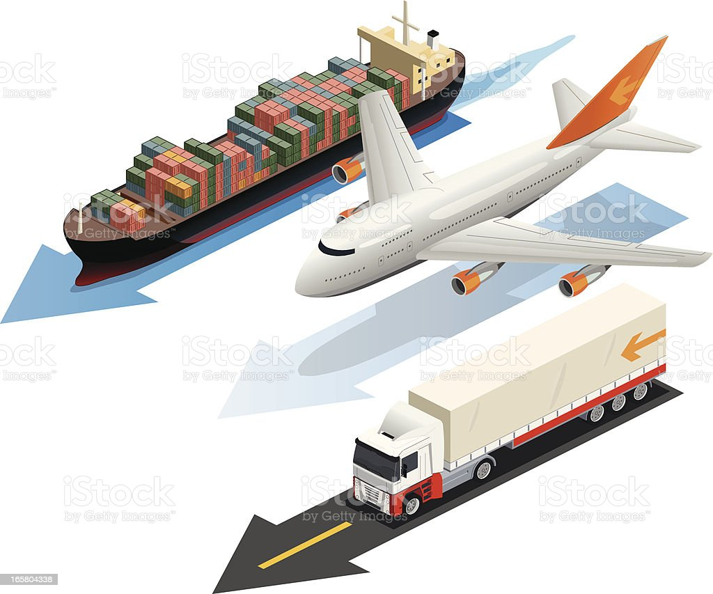 transportation royalty-free stock vector art