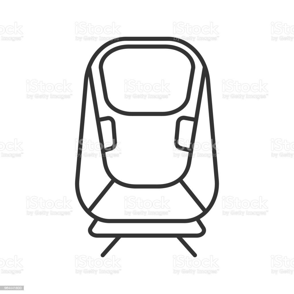Transrapid icon - Royalty-free Art stock vector