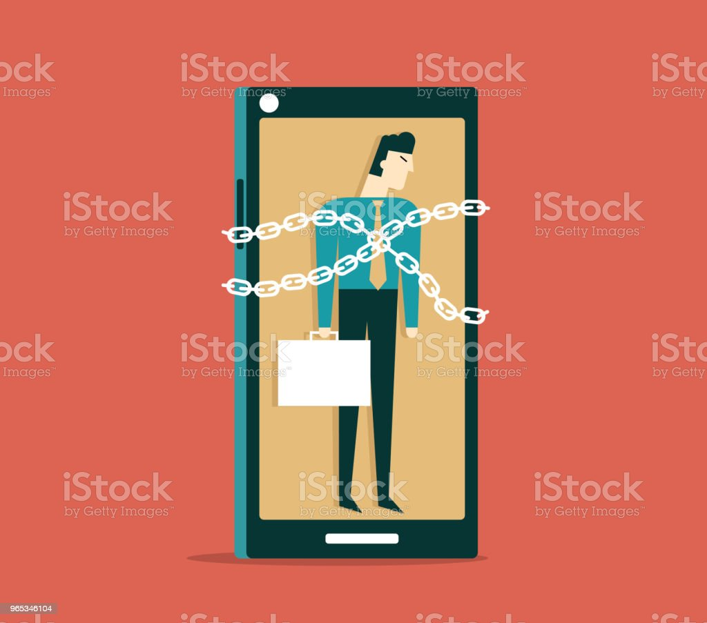 Trapped - Businessman royalty-free trapped businessman stock vector art & more images of abstract