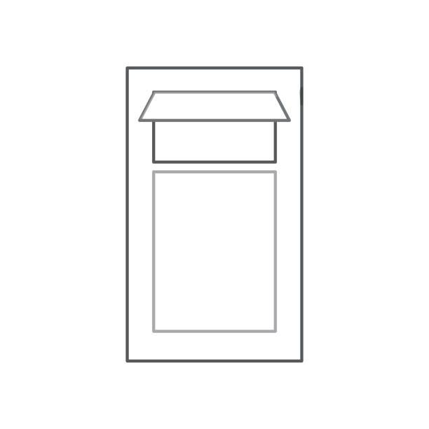 mülleimer-symbol - schrottplatzkunst stock-grafiken, -clipart, -cartoons und -symbole