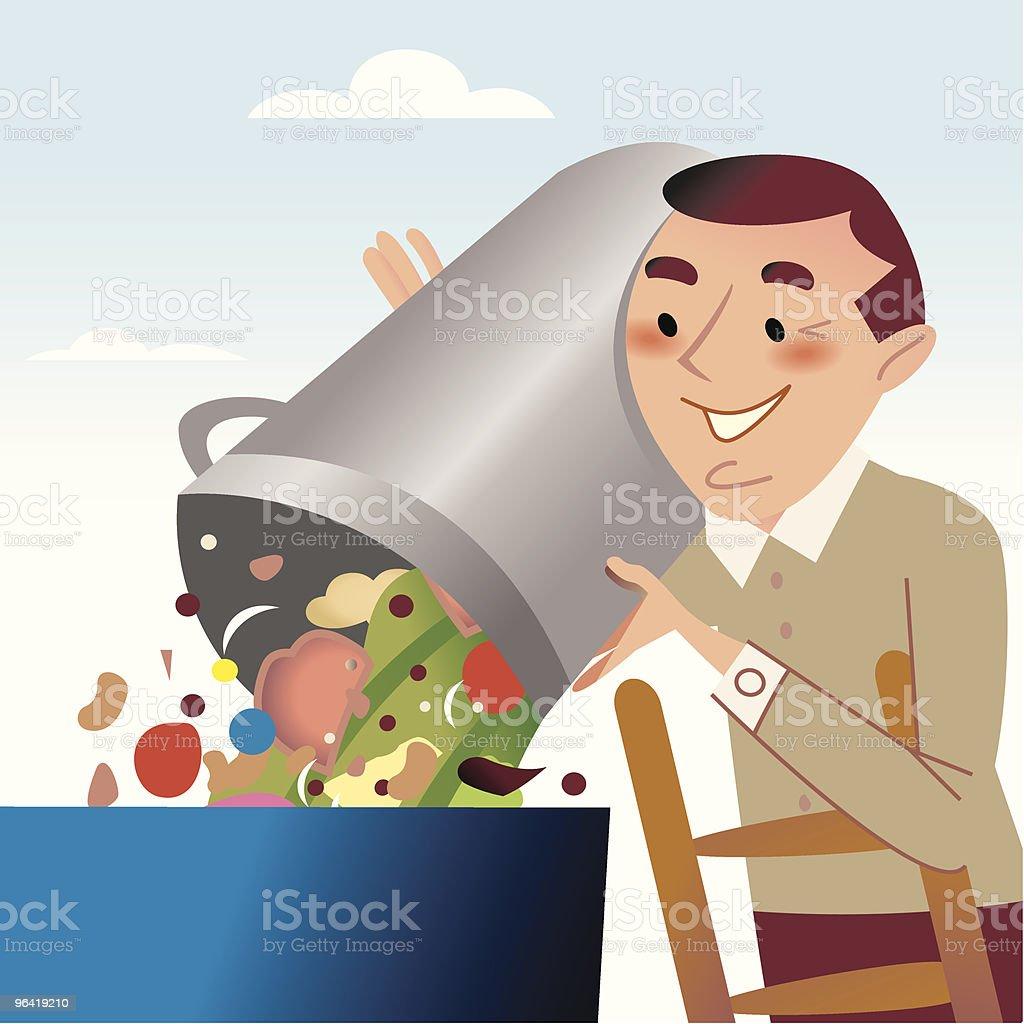 Trash man royalty-free trash man stock vector art & more images of adult