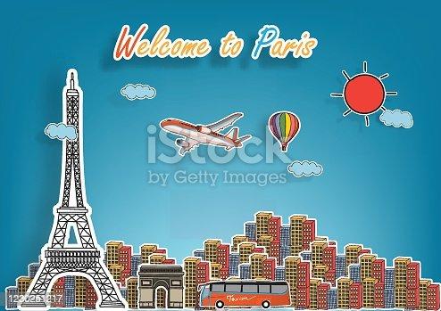 world famous landmarks of Paris
