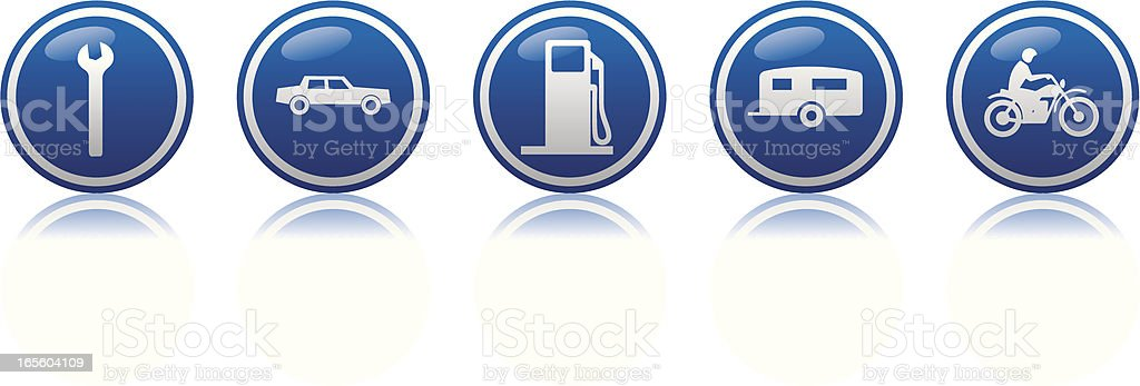 travel 4 icon royalty-free stock vector art