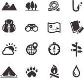 Travel, Adventure and Camping Icons - Acme Series