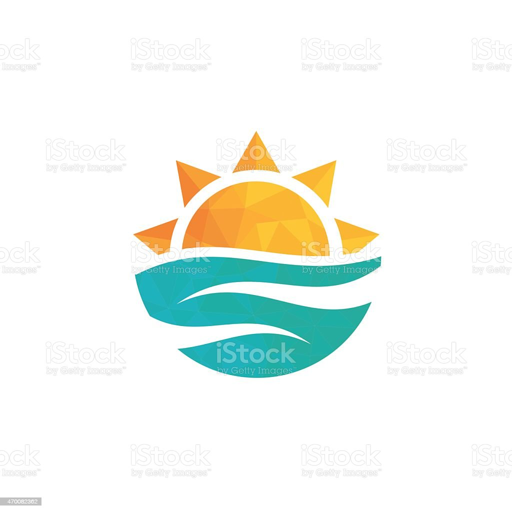 Travel agency logo. vector art illustration