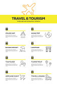 Travel and Tourism Infographic Design Template