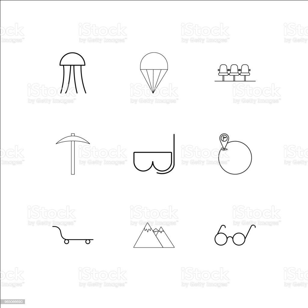 Travel And Tourism linear outline icons set travel and tourism linear outline icons set - stockowe grafiki wektorowe i więcej obrazów azerbejdżan royalty-free