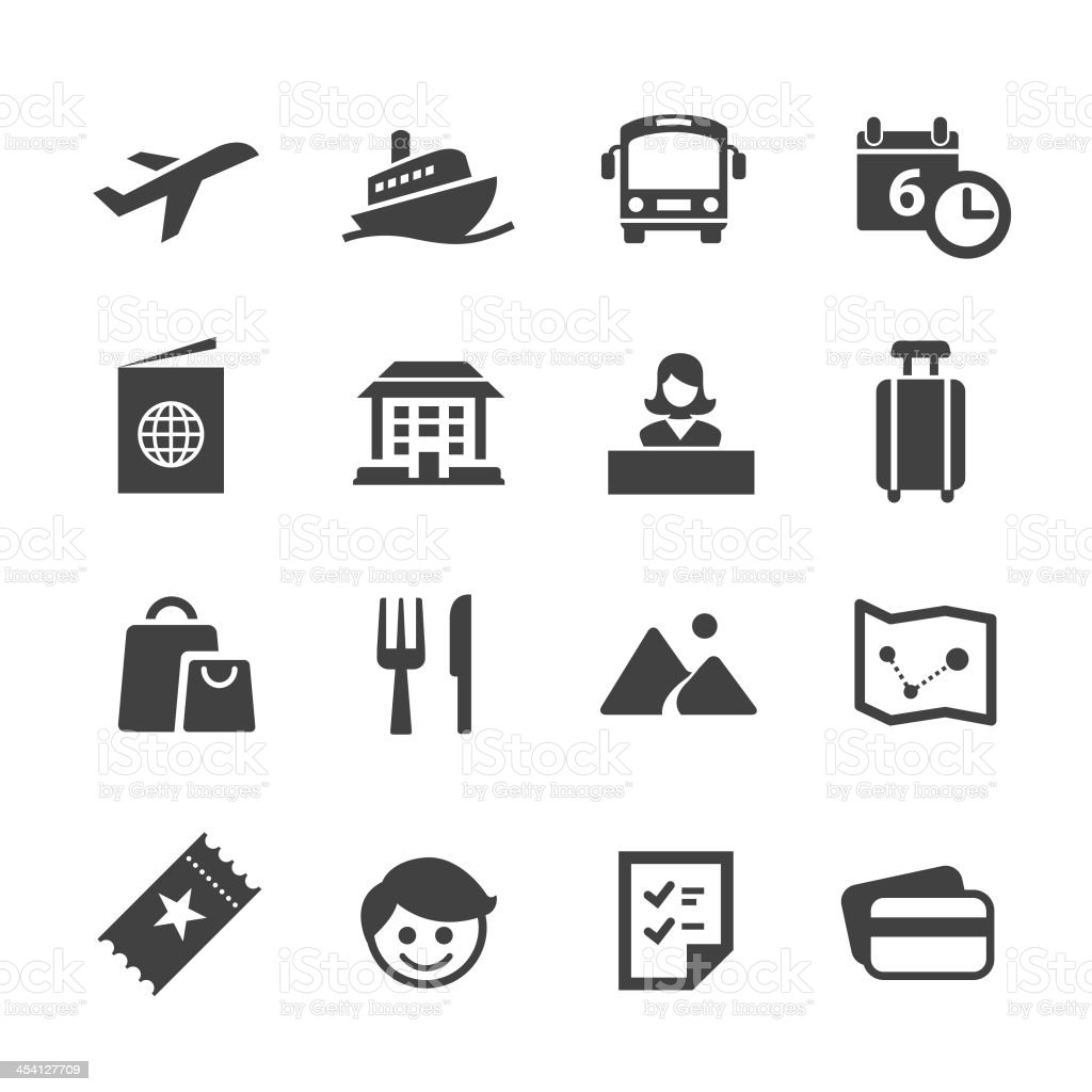 Travel and Vacation - Acme Series vector art illustration