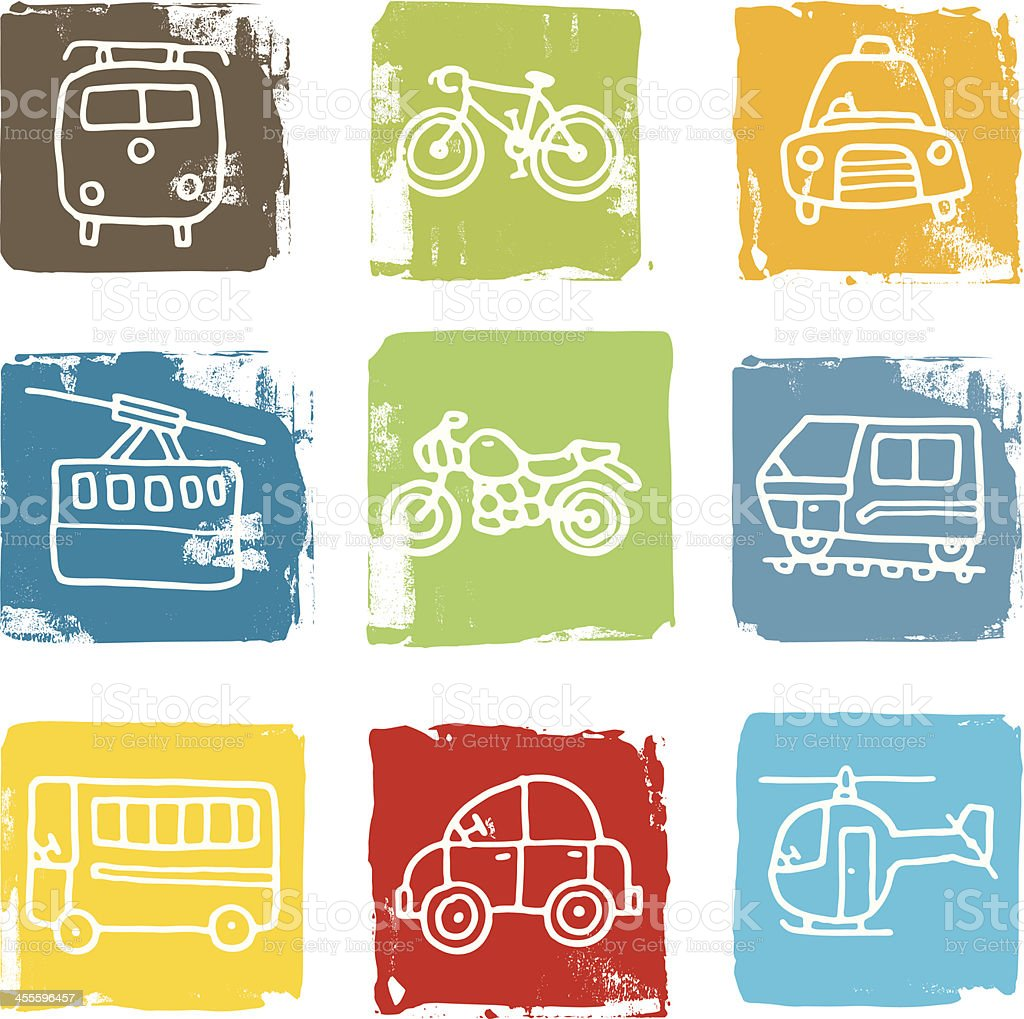 Travel block icons royalty-free travel block icons stock vector art & more images of bicycle