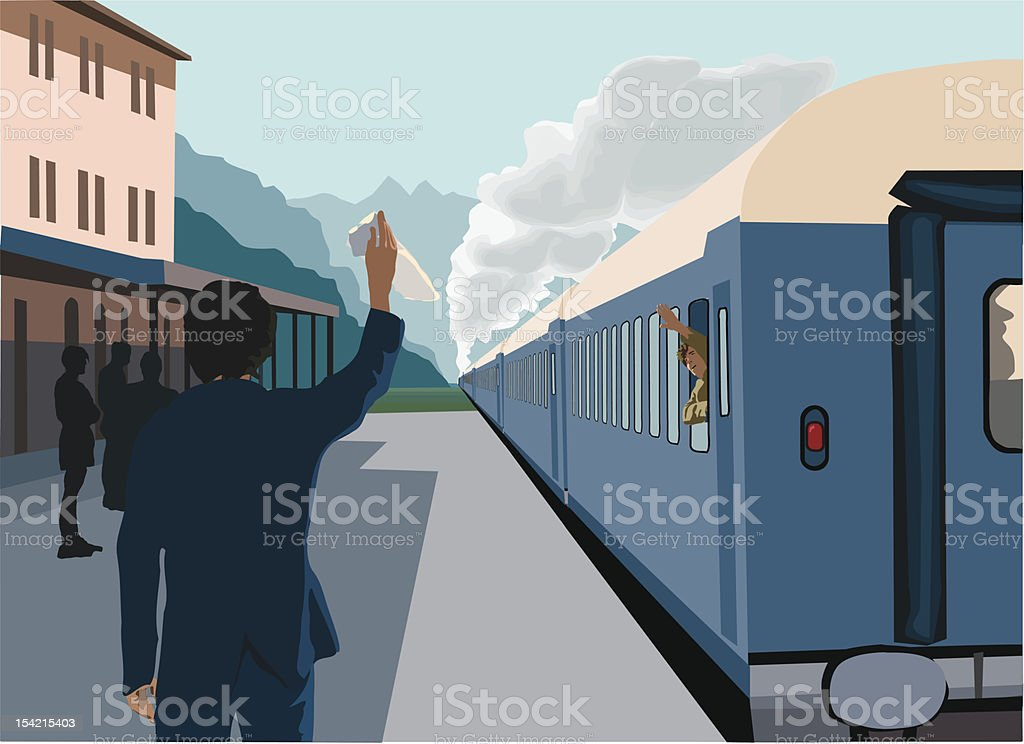 Travel by train royalty-free travel by train stock vector art & more images of august