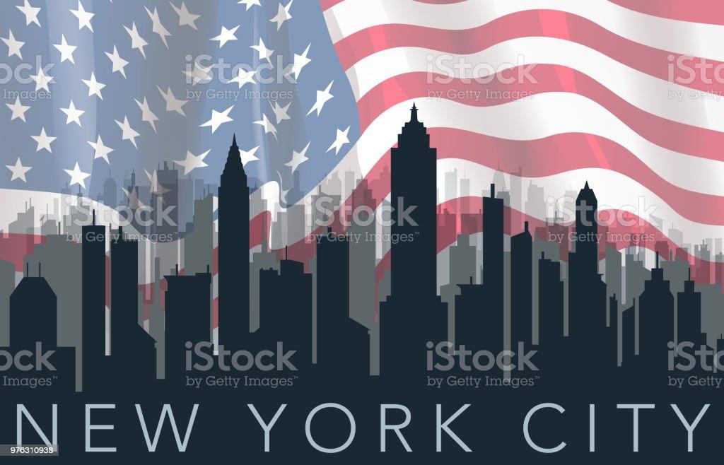 travel city silhouette vector art illustration
