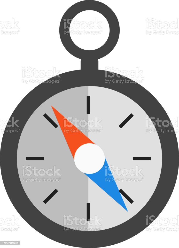 Travel Compass Vector Icon Stock Vector Art More Images Of