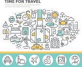 Travel concept illustration.