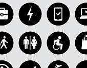 Travel Day Icon Set