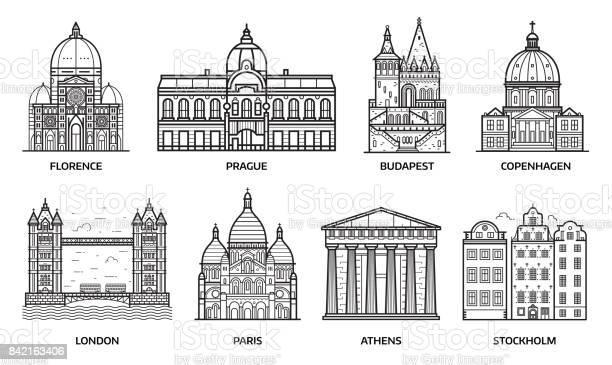 Travel europe monuments and landmarks vector id842163406?b=1&k=6&m=842163406&s=612x612&h=8pcijaca3xqvcciycknnttkqzljc9vjs n0s5jy8k3s=