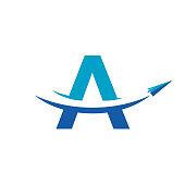 Paper Airplane For Travel Company Symbol