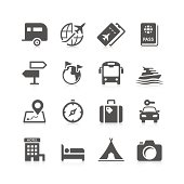 Unique travel related icon can beautify your designs & graphic