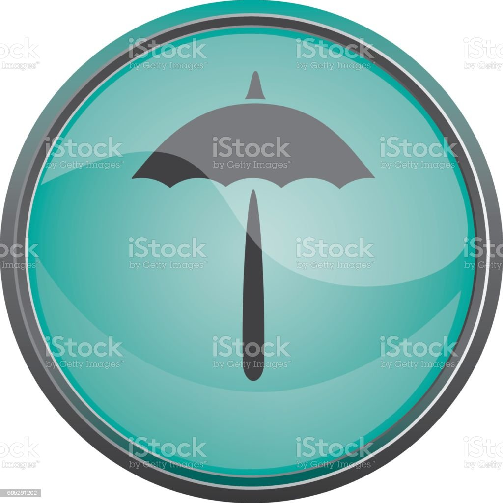 Travel icon. Summer vacations. Umbrella Vector eps10 vector art illustration