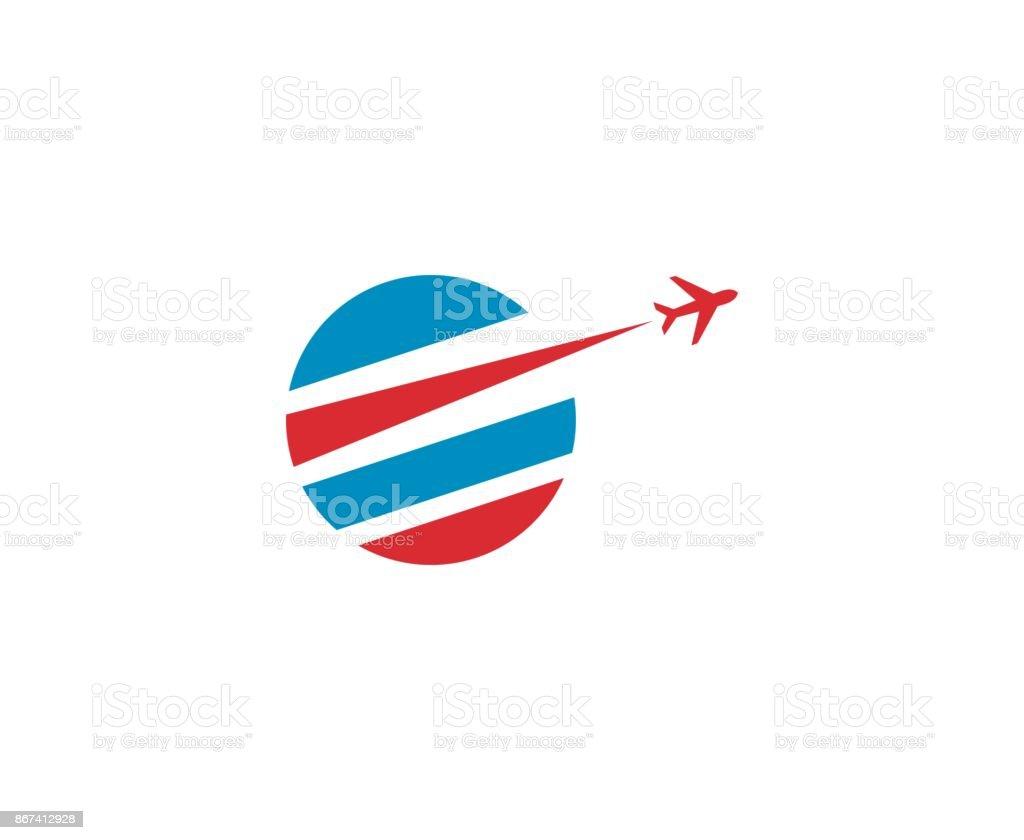 Travel icon vector art illustration