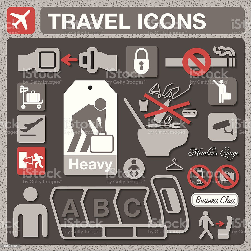 Travel Icons royalty-free travel icons stock vector art & more images of accidents and disasters