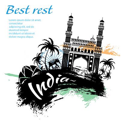 Travel India grunge style