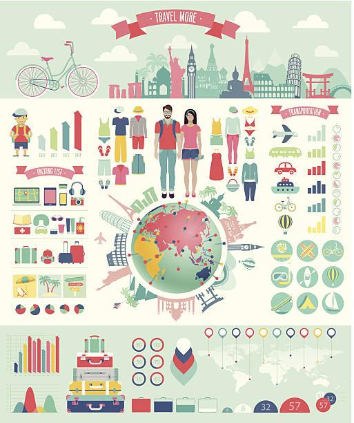 die infografik set mit diagrammen und anderen elementen. - forschungsurlaub stock-grafiken, -clipart, -cartoons und -symbole