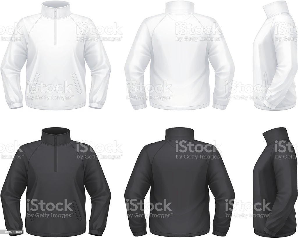 Travel jacket vector art illustration