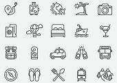 istock Travel Line Icons 1066802456