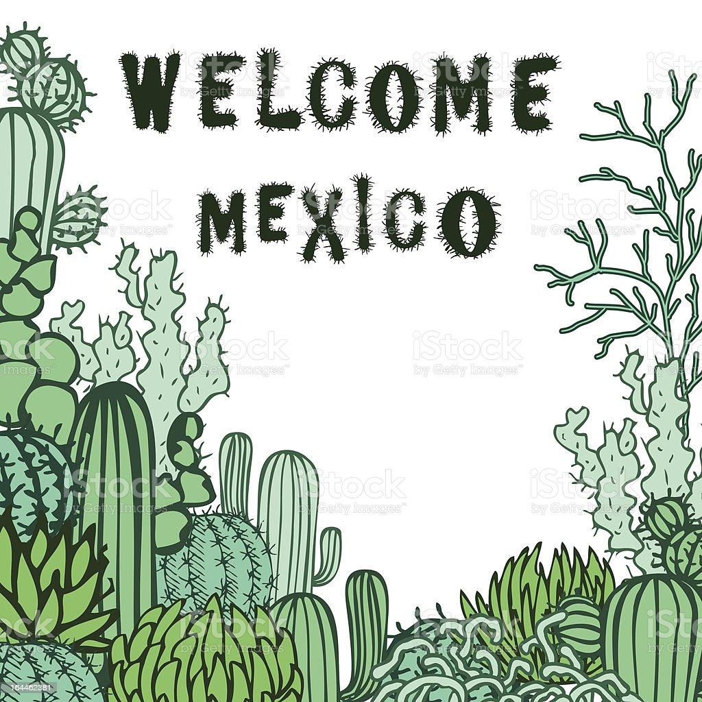 Travel Mexico royalty-free stock vector art