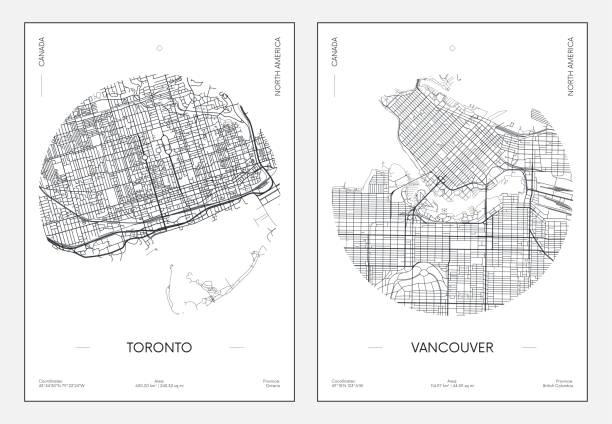 46 Vancouver Street Illustrations Clip Art Istock