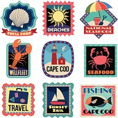 Travel Stickers Cape Cod