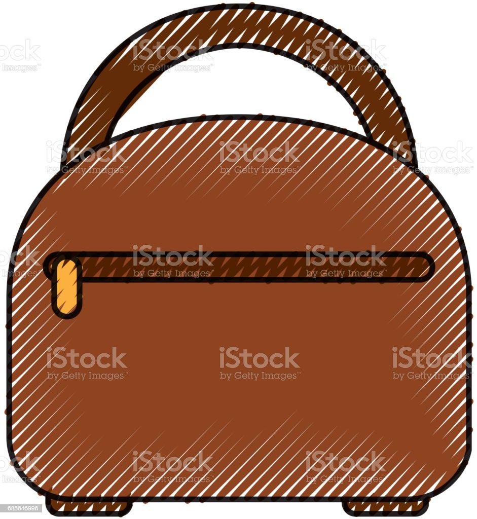 Reise-Koffer isoliert icon Lizenzfreies reisekoffer isoliert icon stock vektor art und mehr bilder von abenteuer