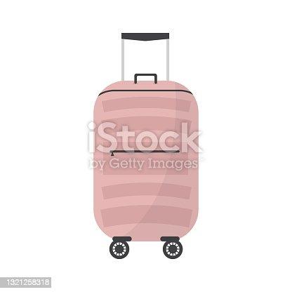 istock Travel Suitcase. 1321258318