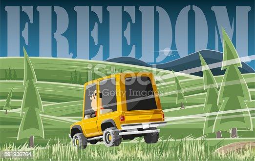 istock Travel to freedom 891936764