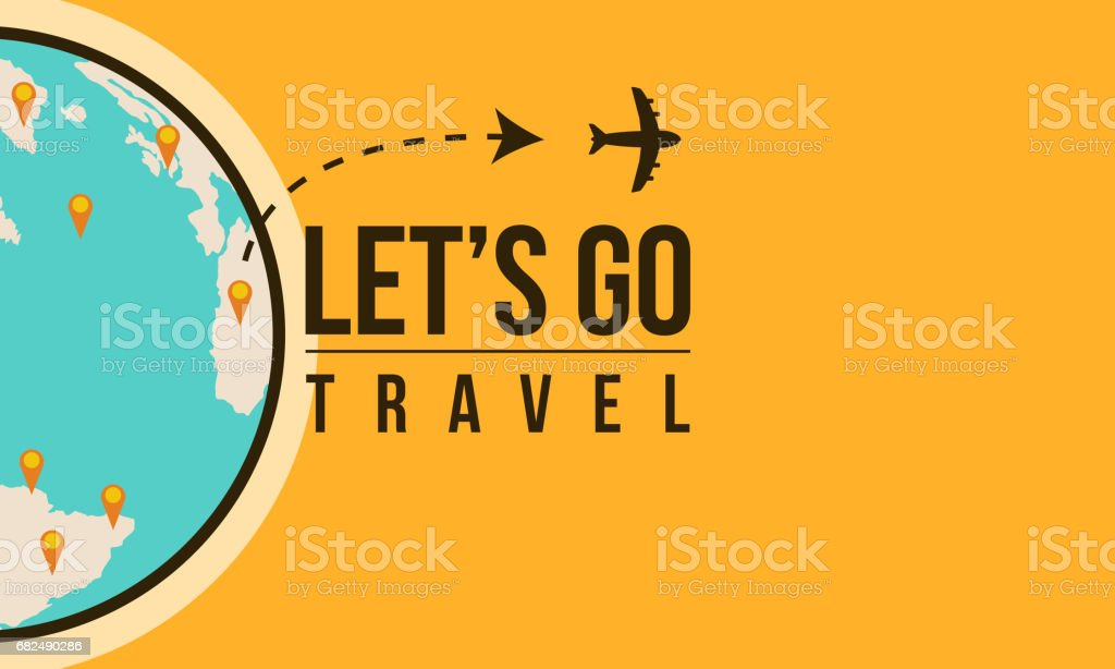 Travel to world design style vector illustration travel to world design style vector illustration - immagini vettoriali stock e altre immagini di aeroplano royalty-free